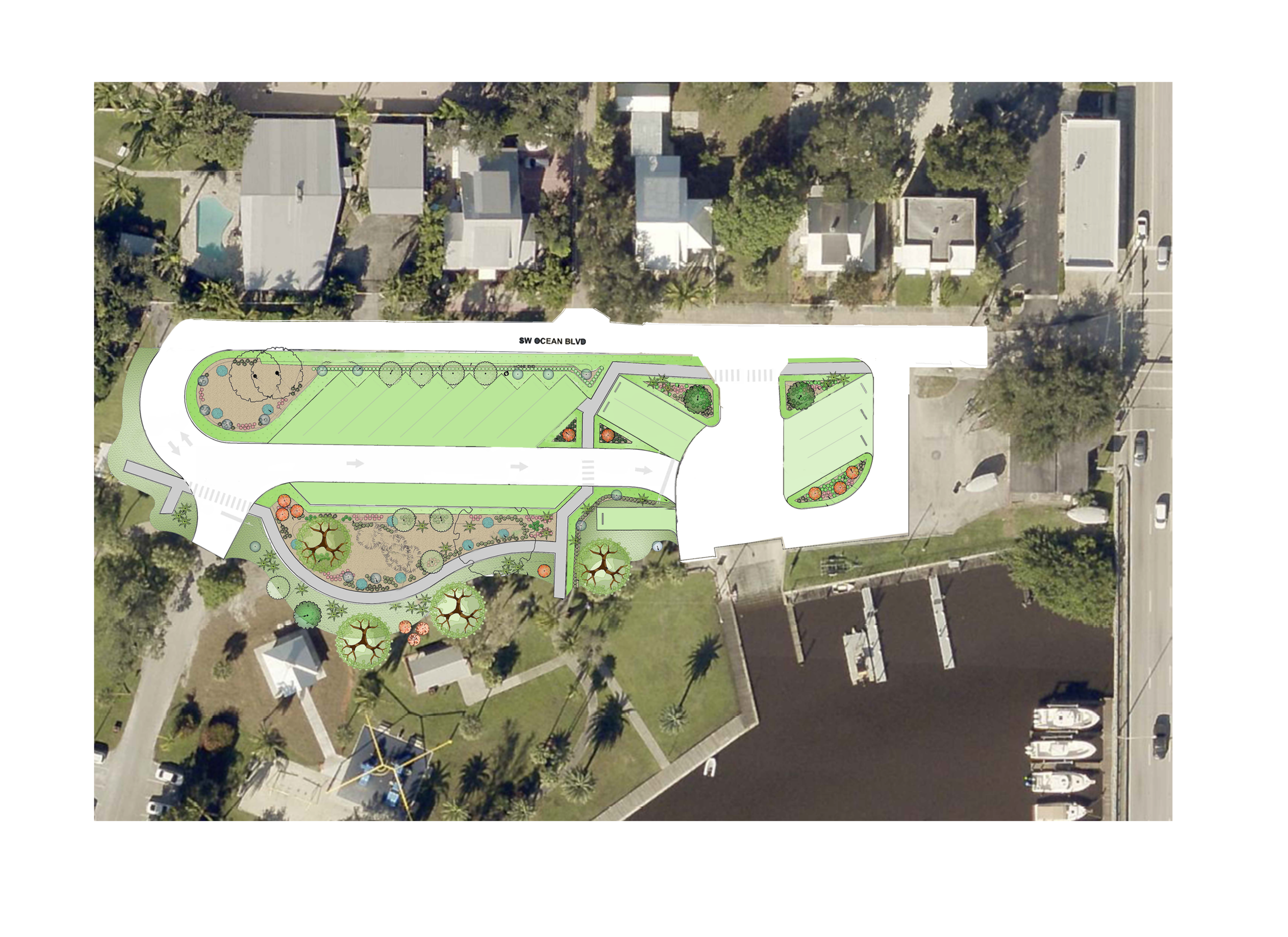 Shepard Park parking improvements map revised