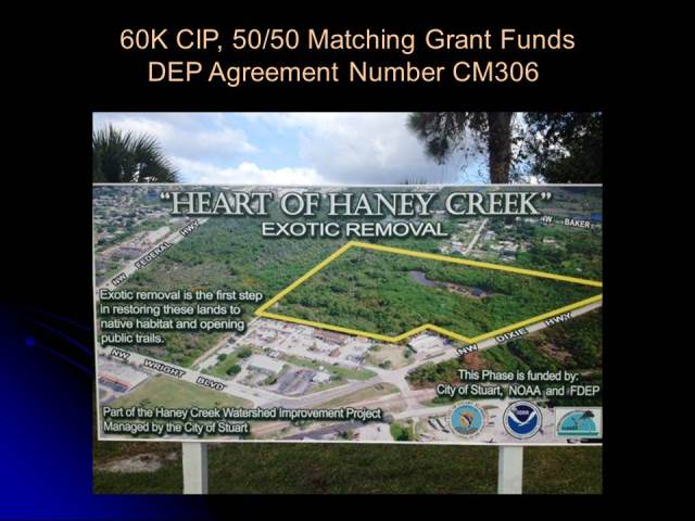 Heart of Haney Creek Exotic Removal Map