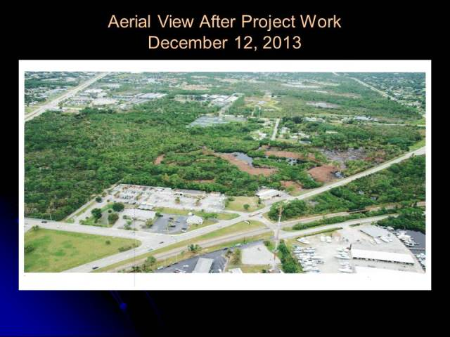 Aerial View After Project Work