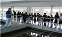 Kids at Water Plant Tours 2