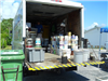 Truck Full of Paint and Other Hazardous Waste