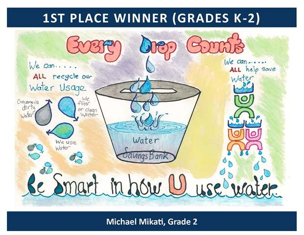 1st Place Winner Grades Kindergarten through 2
