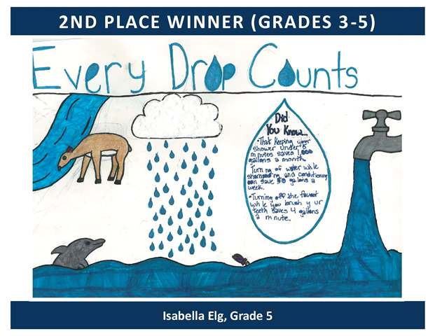 2nd Place Winner Grades 3 through 5