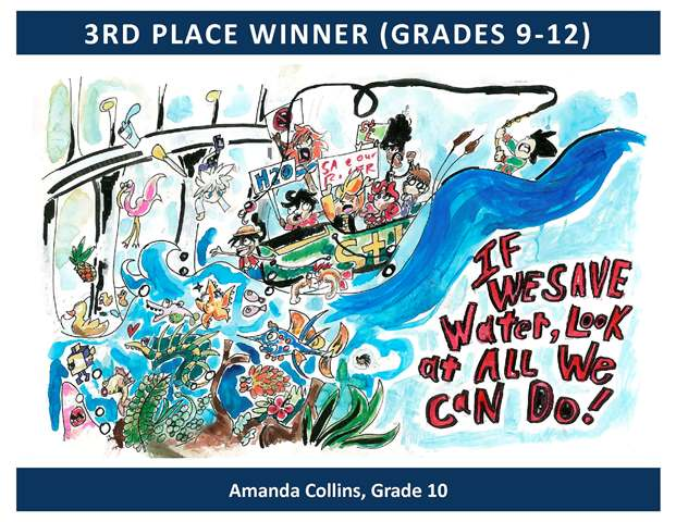 3rd Place Winner Grades 9 through 12