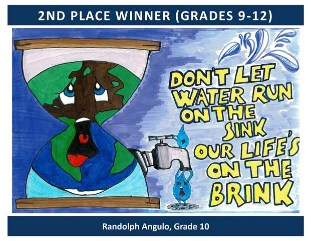 2nd Place Winner Grades 9 through 12
