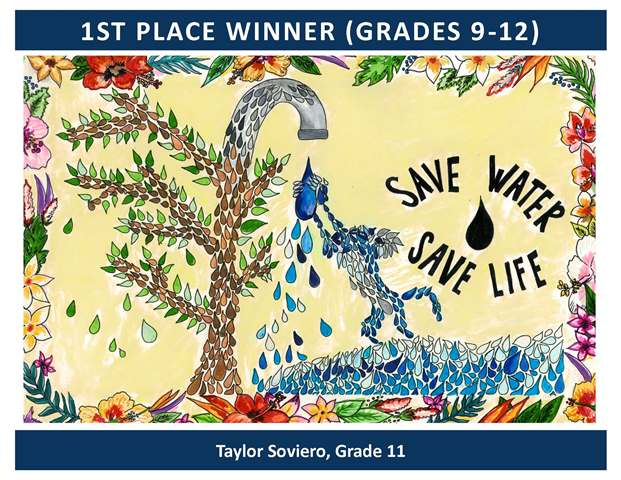 1st Place Winner Grades 9 through 12