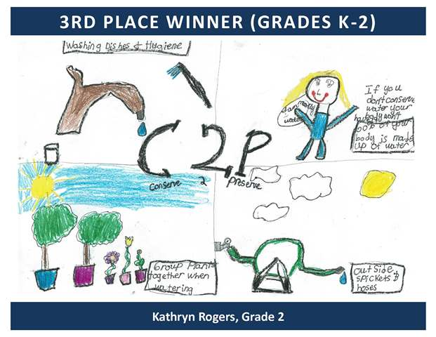 3rd Place Winner Grades Kindergarten through 2