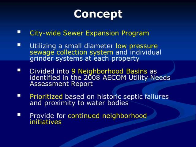 Sewer Expansion Slide 2