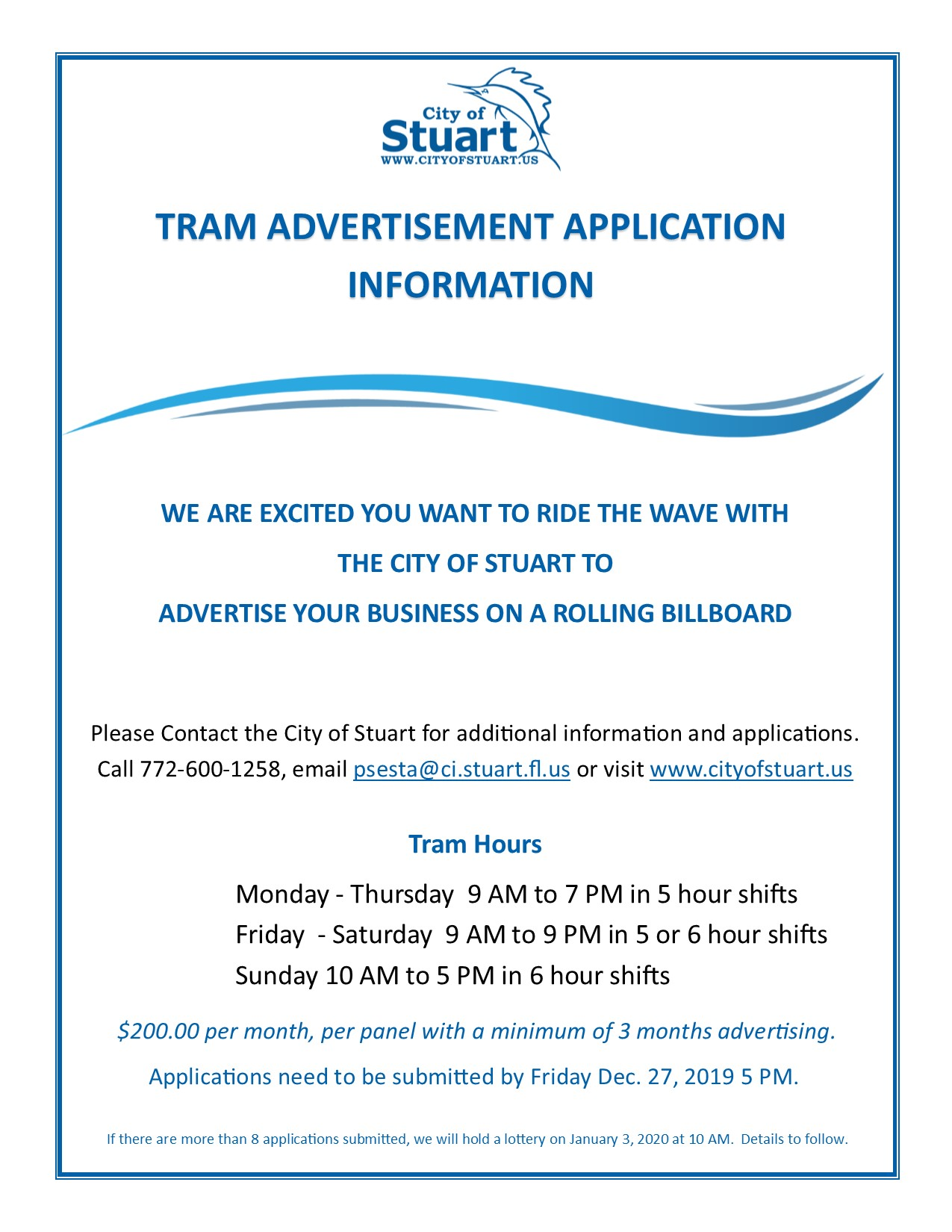 TRAM Advertisement Flyer pg 2