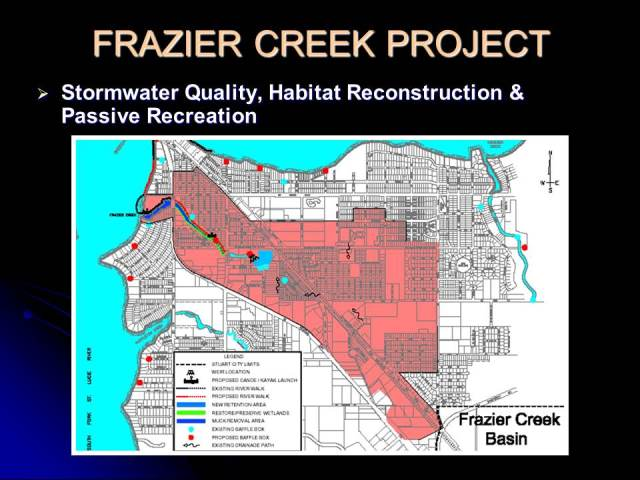 Frazier Creek Project Map